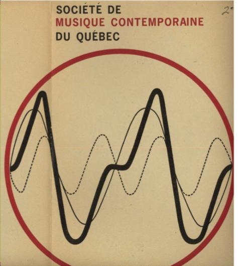 Figure 3: SMCQ, Programme du 2e concert, 16 février 1967, 1re de couverture, 15,2 cm x 23 cm.