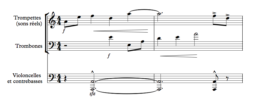 Figure 2 : Transcription à partir du film.
