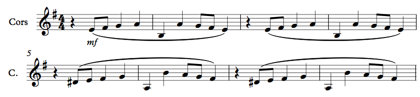 Figure 4 : Transcription en sons réels à partir du film.